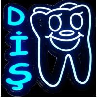 Led Tabela Diş ve Dişçiler İçin Işıklı