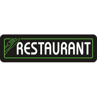Restaurant Tabelası Led Aydınlatmalı Tabela