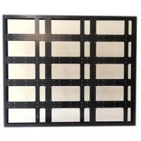 80x96cm Kayan Yazı Kasası - P10 CNC Hazır Kasa - Led Kasası
