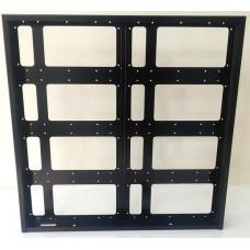 64x64cm Kayan Yazı Kasası - P10 CNC Hazır Kasa - Led Kasası