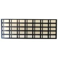 80x224cm Kayan Yazı Kasası - P10 CNC Hazır Kasa - Led Kasası