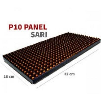 P10 Sarı Led panel