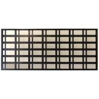 96x224cm Kayan Yazı Kasası - P10 CNC Hazır Kasa - Led Kasası