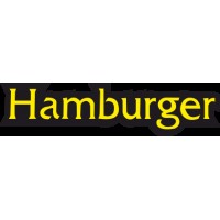 Hamburger Led Yazı