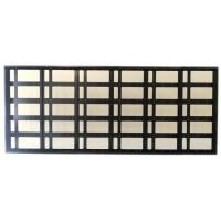 80x192cm Kayan Yazı Kasası - P10 CNC Hazır Kasa - Led Kasası