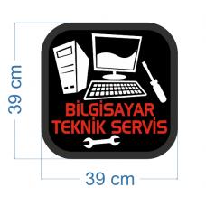 Bilgisayar Teknik Servisi Led Tabelası