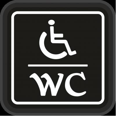 Engelli WC Tabela - Özürlü WC Tabelası