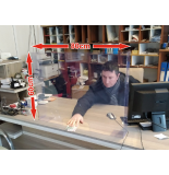 Şeffaf Seperatör - Şeffaf Koruyucu Ara Bölme - Şeffaf Ayırıcı Siper