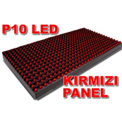 P10 Kırmızı Led panel