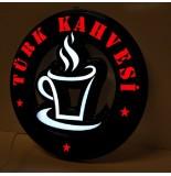 Türk Kahvesi Led Tabela