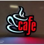 Cafe Tabelası Hazır ve Ledli Tabela