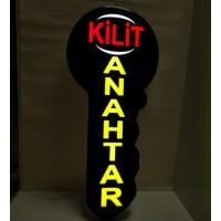 Anahtarcı -Kilit- Çilingir Led Işıklı Hazır Tabela