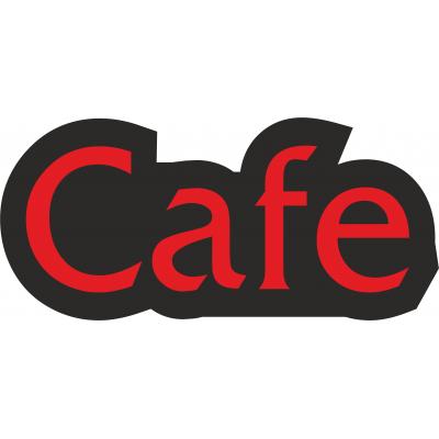 Cafe Yazılı Tabela