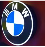 Araç Logosu - Işıklı BMW Logo