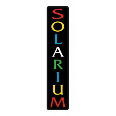 Solarium Led Tabela - Solaryum Tabelası