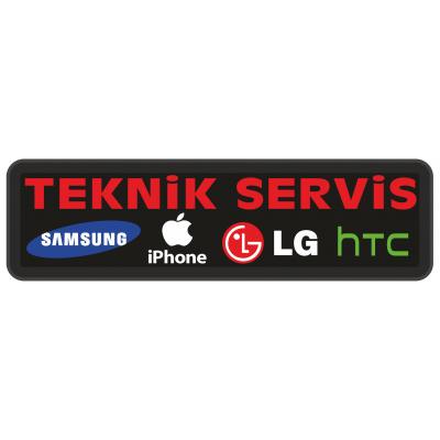Telefon Teknik Servisi Led Tabela 17x60cm