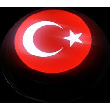 Türk Bayrağı - Ay Yıldız - Işıklı Tabela